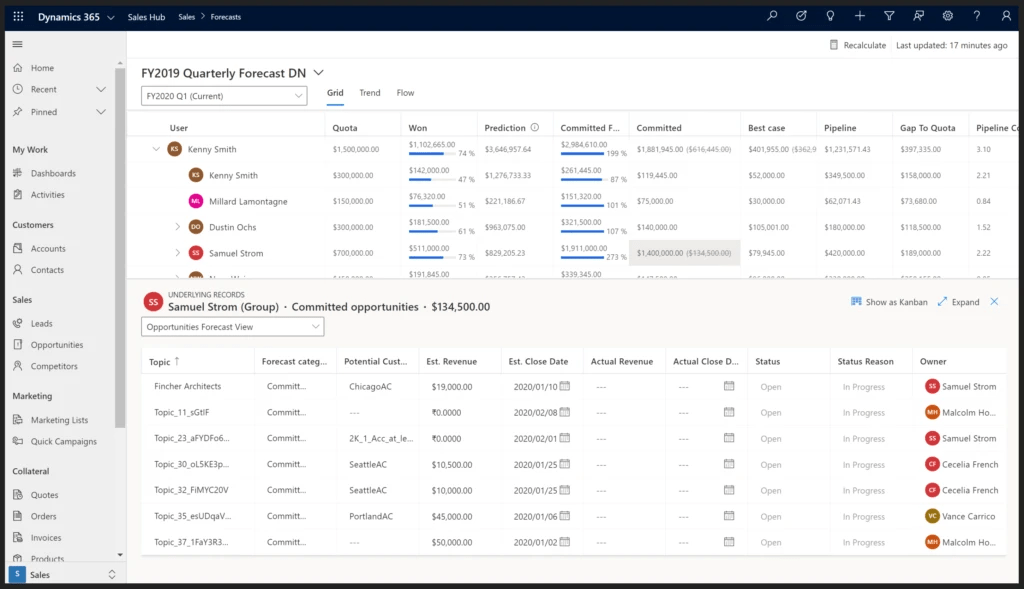 Microsoft Dynamics 365 CRM Email Marketing