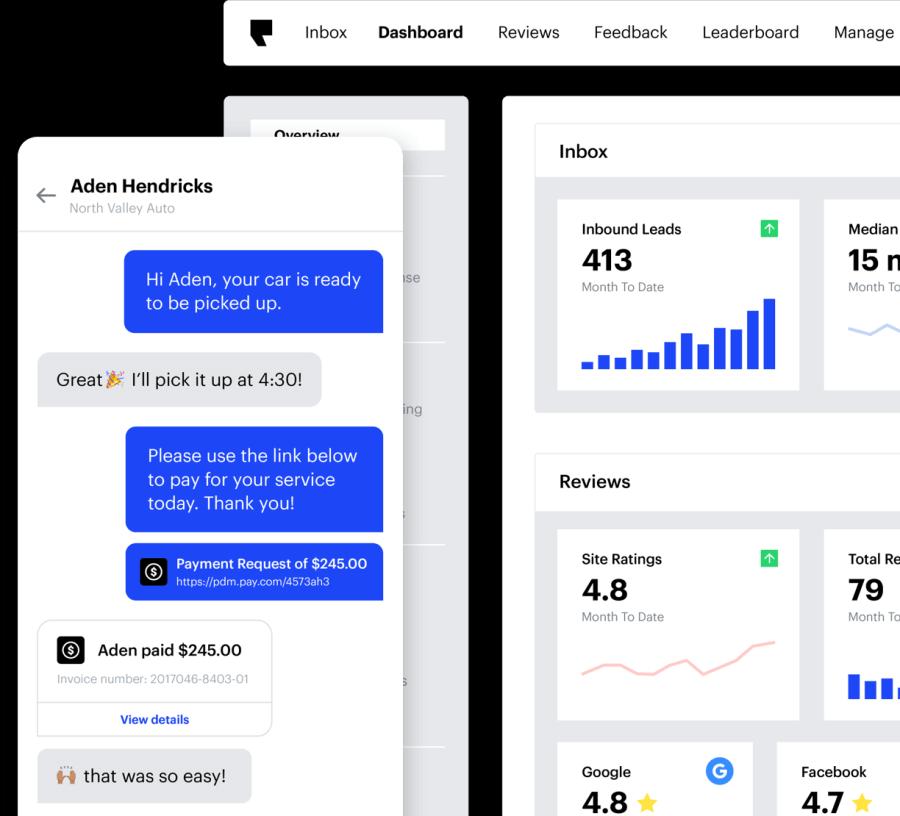 Podium interface example