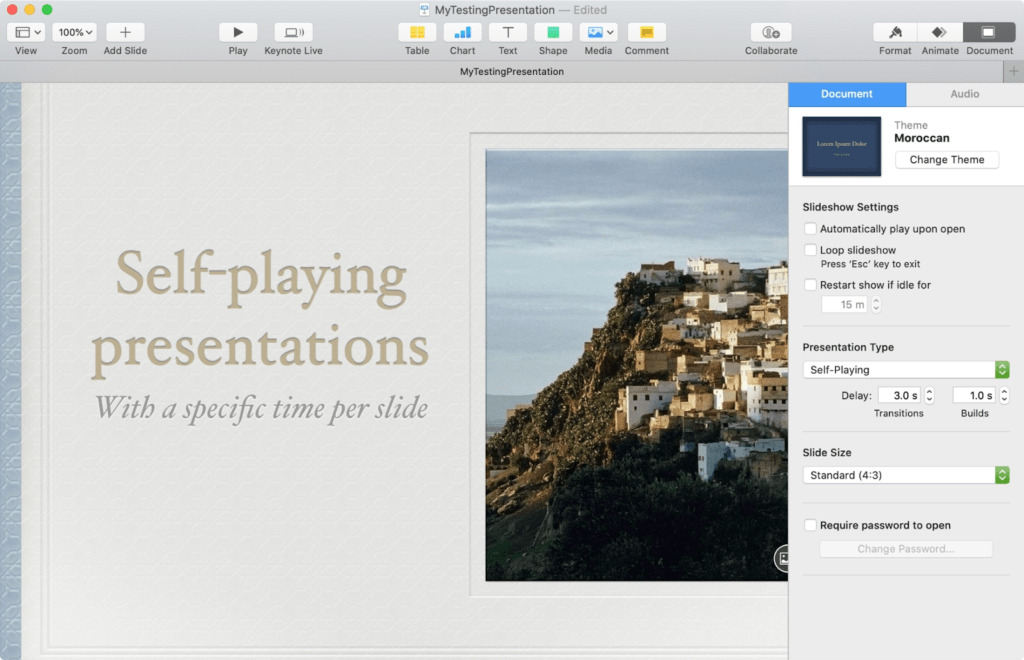 Keynote Free Presentation Software