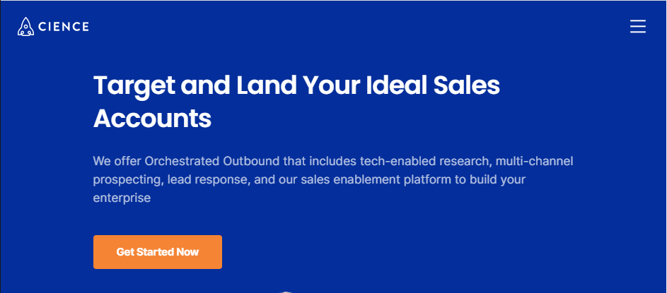 CIENCE Buy Business Leads
