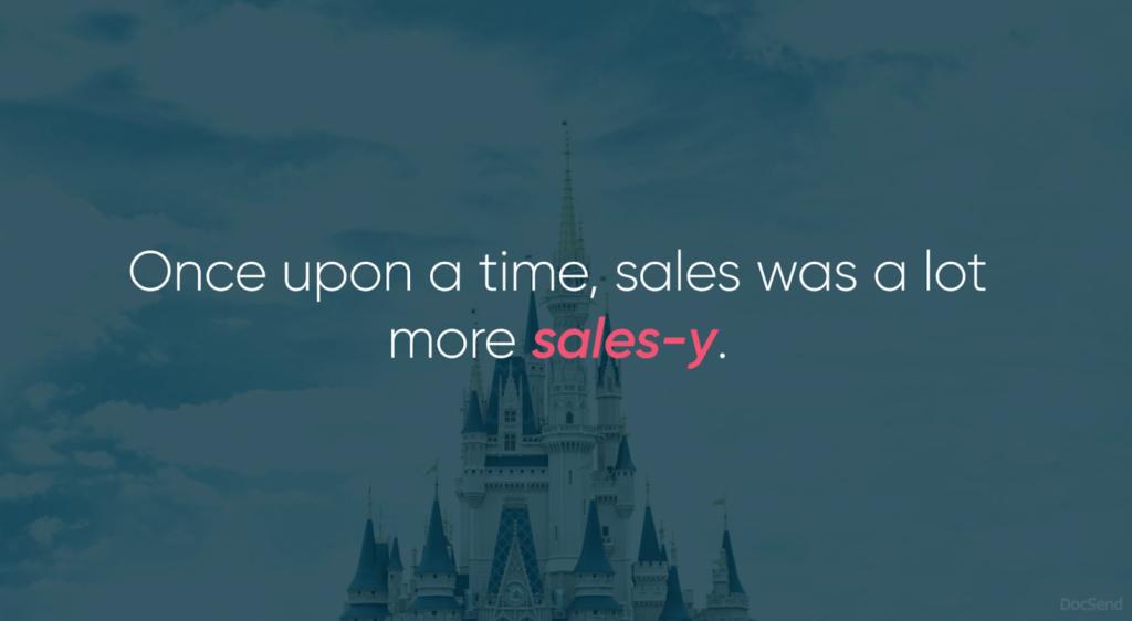 DocSend sales deck example