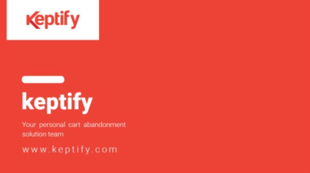 Keptify sales deck example