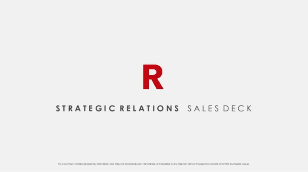 Richter sales deck example