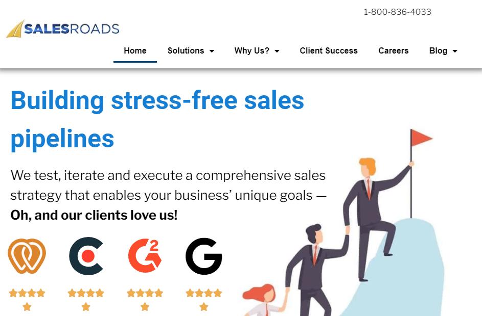 Salesroads Buy Business Leads
