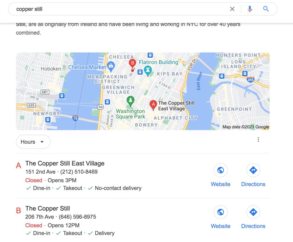 Sample Local Landing Page