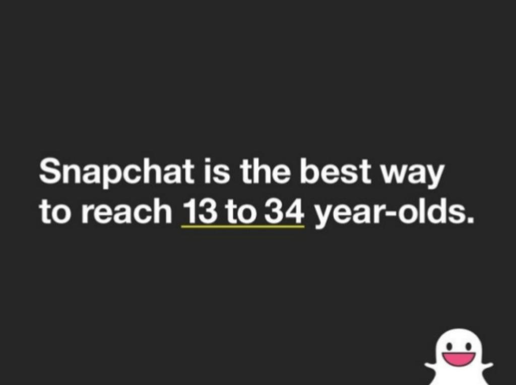 Snapchat Ad sales deck example