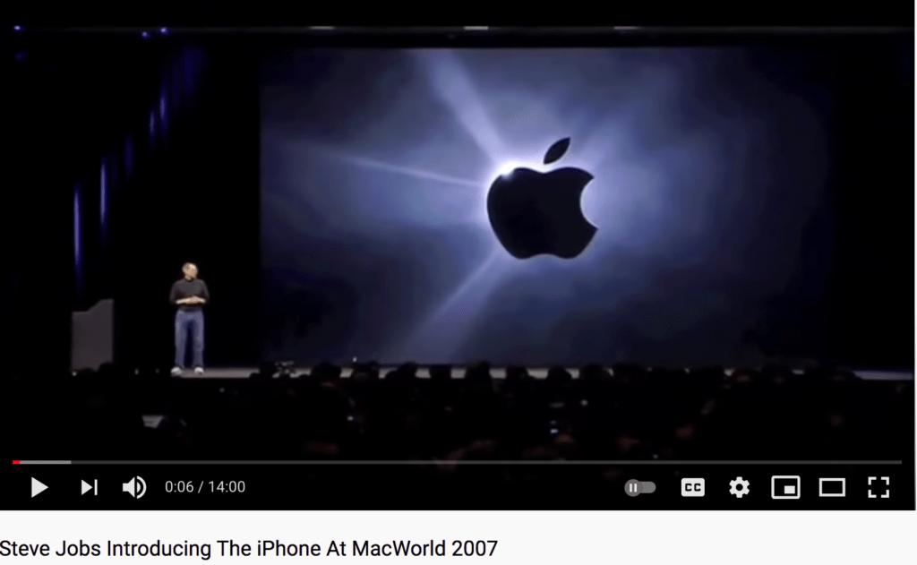 Steve Jobs sales presentation