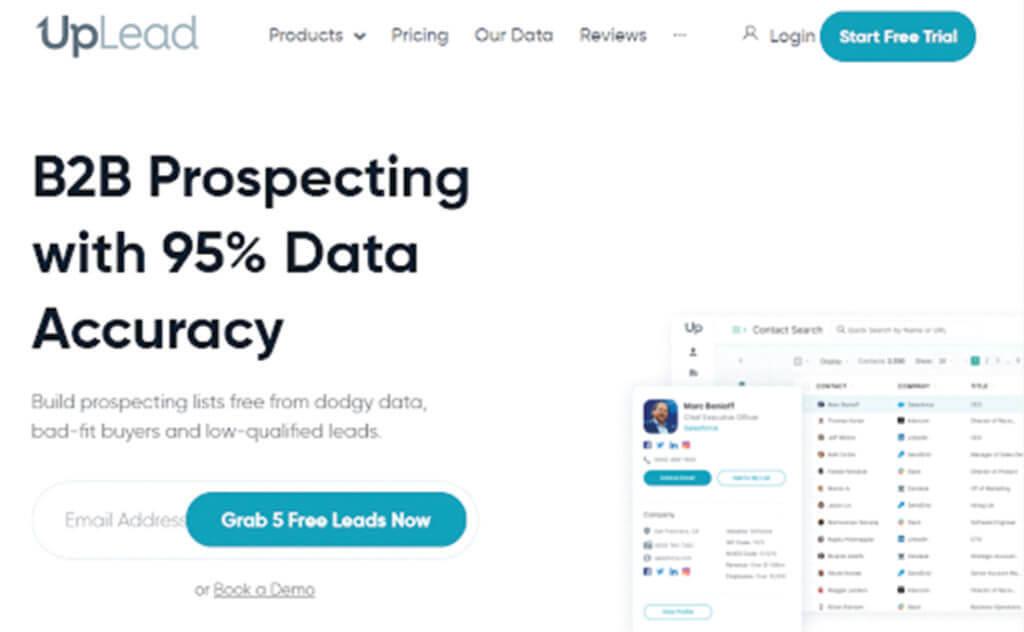 UpLead Buy Business Leads