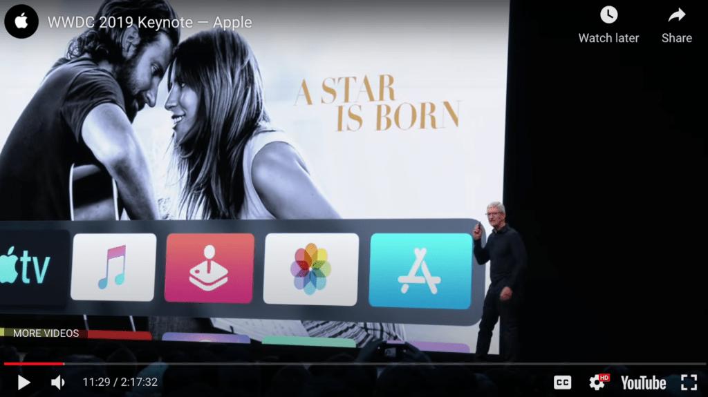 Apple keynote sales presentation example
