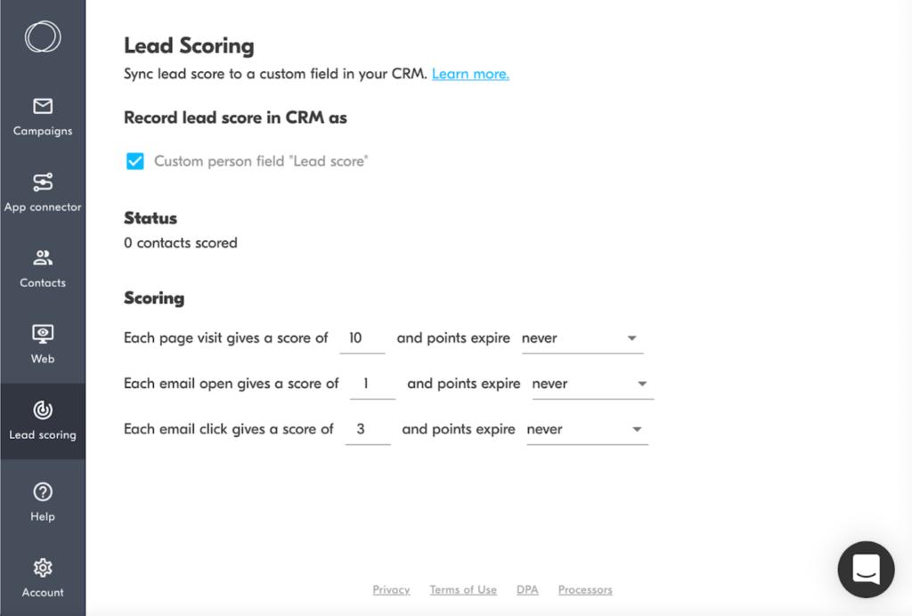 Copper - Lead Scoring Software