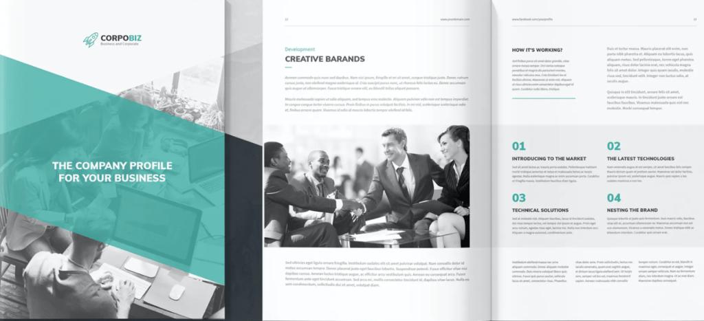CorpoBiz business proposal template
