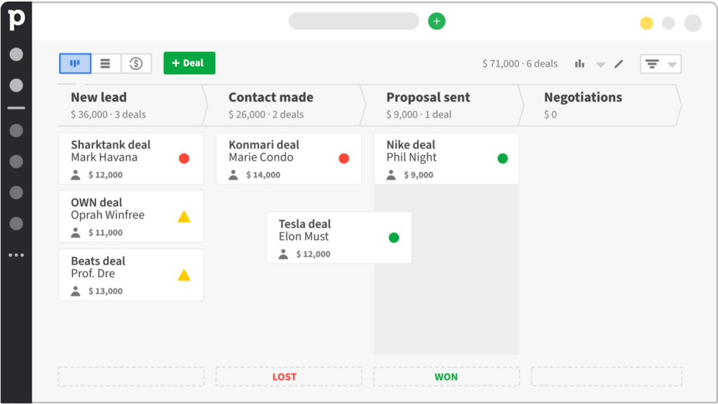 Pipedrive - Lead Management Software