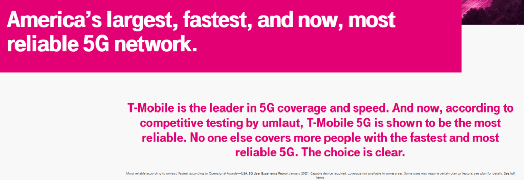 T-Mobile sales pitch example