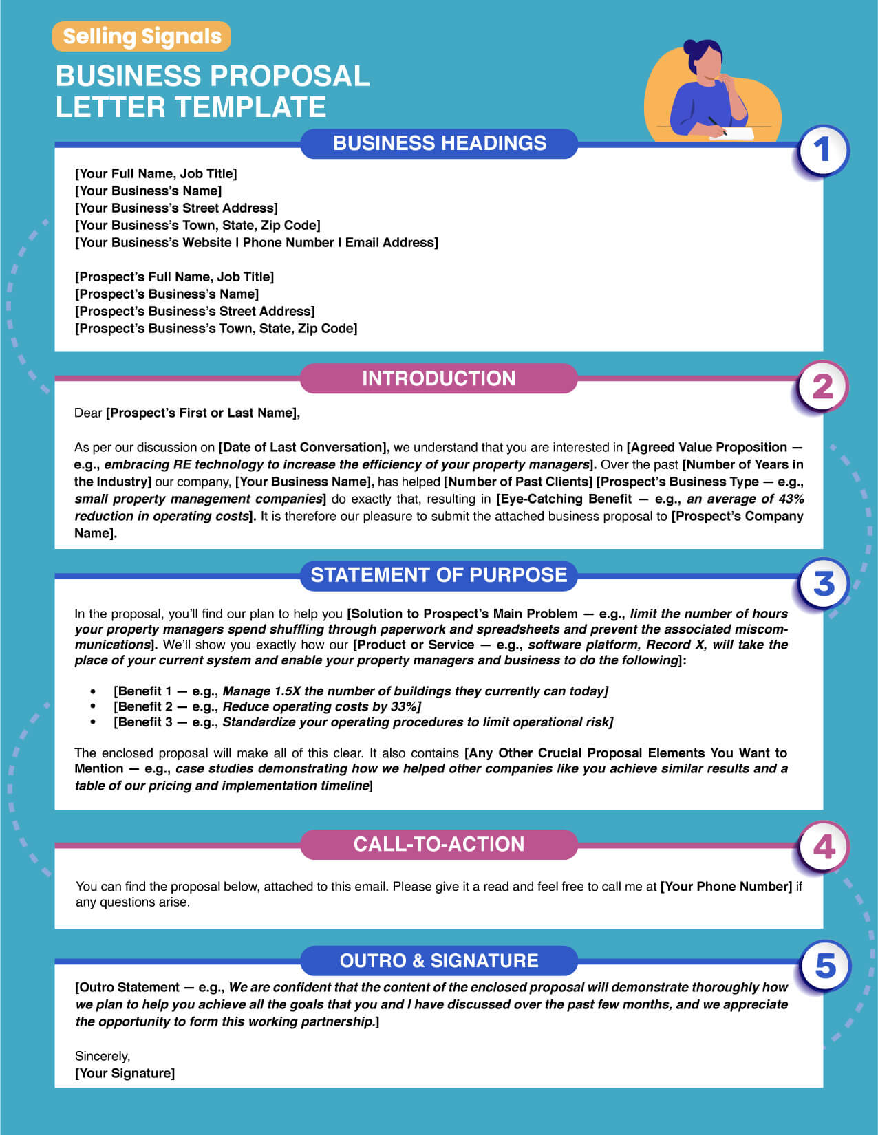 free business proposal letter template