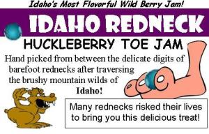 Adding Value to Your Products -- Idaho Redneck Huckleberry Toe Jam