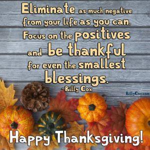 2017 Thanksgiving Message