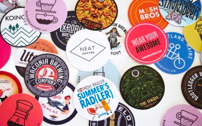 Sticker Mule adds Full Color Coaster Printing