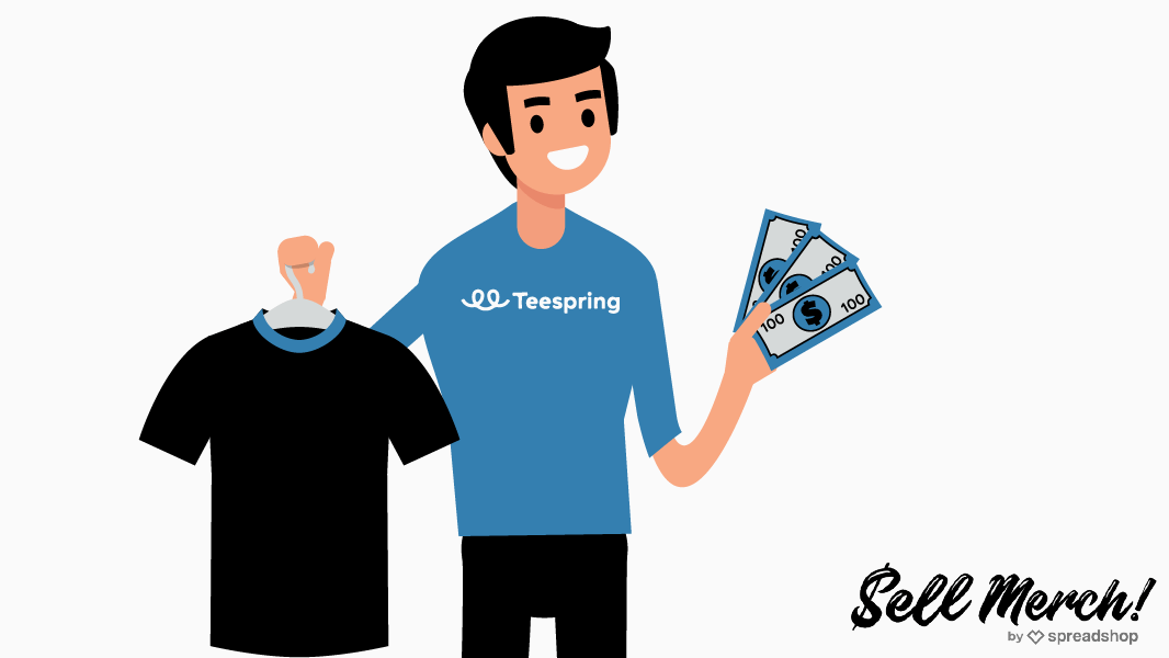 How to sell shirts and make money with Teespring