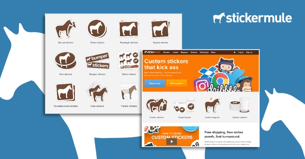 Affordable Stickers: Stickermule have some of the best custom stickers in the industry
