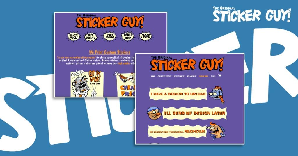 Best Custom Sticker Printing: Sticker Guy!