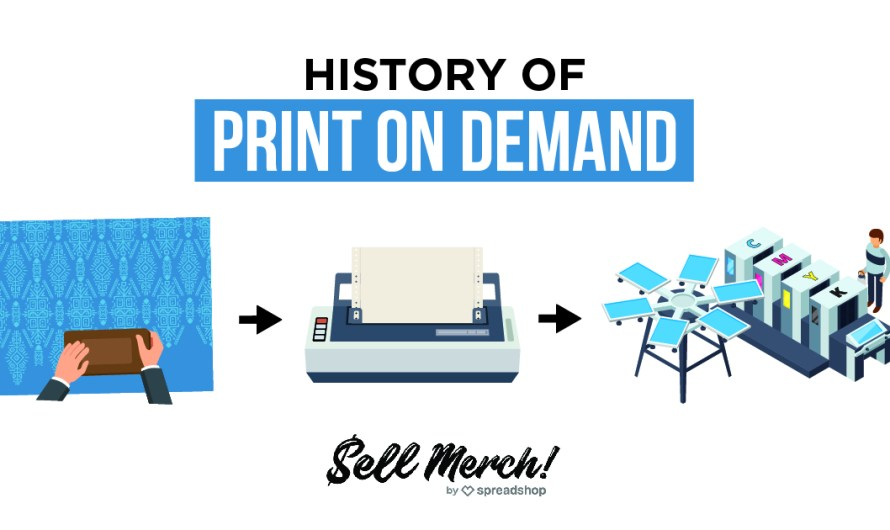 The history of Print on Demand