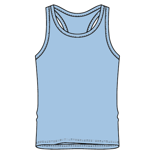 Types of T-shirts - Singlet T-Shirt