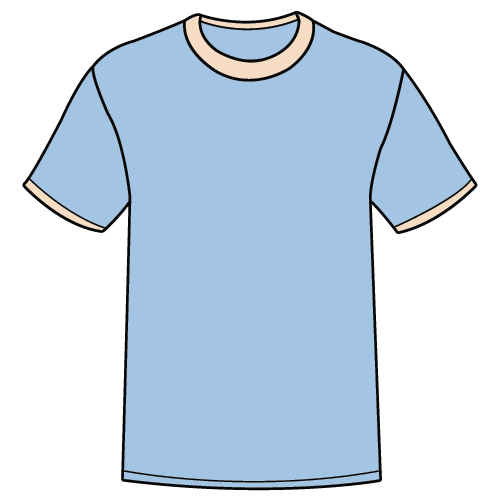 Types of T-shirts - Ringer t-shirt