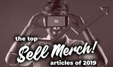 Top 2019 Custom Merch Articles