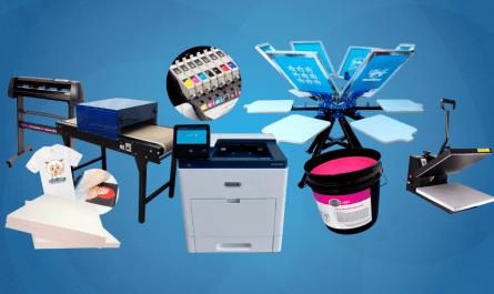 T-shirt printing equipment