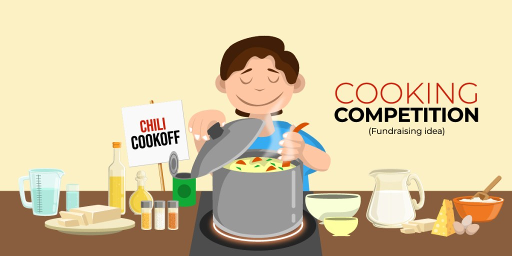 Fundraising ideas - cooking competition
