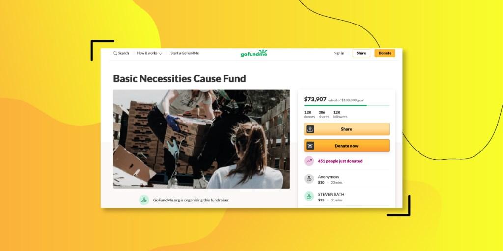 GoFundMe - Top crowdfunding platforms