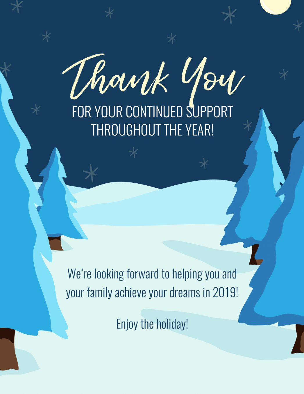 Thank You For All Your Help And Support : thank, support, Thank, Support, House,, Helping, Families, Transition, Downsize, Their