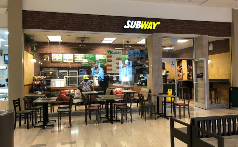 Subway Franchise for Sale  $288,000