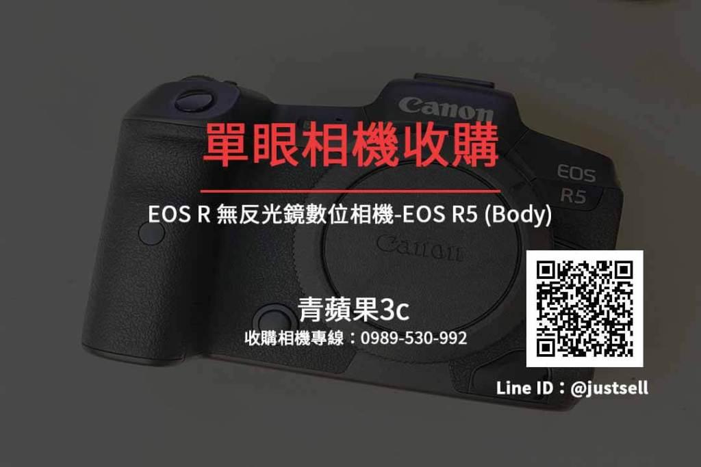 Canon EOS R5 收購