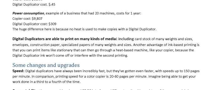 Do Digital Duplicators Still Make Sense?—an article for you to download and share