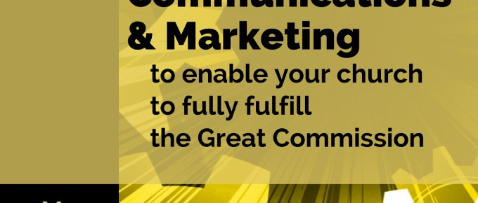 5 Steps of Church Communications and a reminder of what churches print