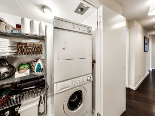 Laundry room with extra storage