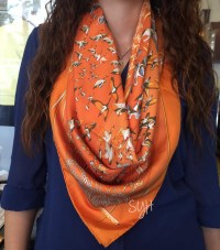 Five Ways to Wear an Hermes Scarf