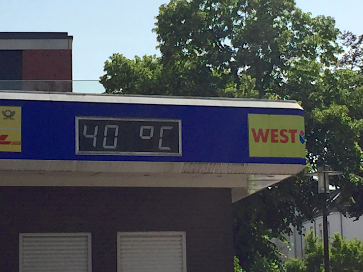 Foto der Woche KW25 40 Grad