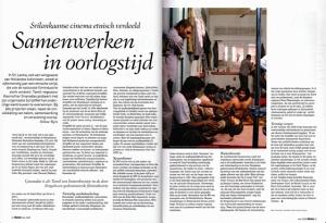 Foto van het artikel 'Samenwerken in oorlosgtijd' in SKRIEN.