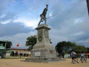 Standbeeld van Juan Santamaría.