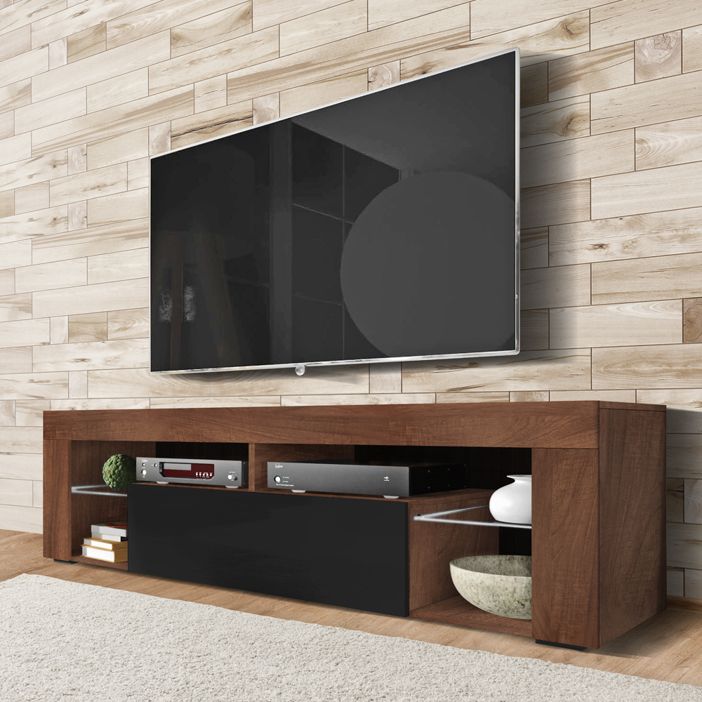 gototo meuble tv suspendu meuble de