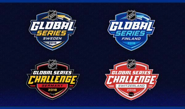 NHL Global Series logos