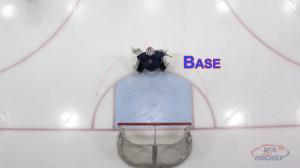 Goalie at Base Depth