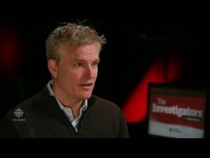 TSN's Rick Westhead in an interview on CBC's The Investigators
