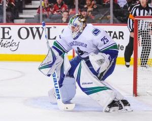 Jacob Markstrom, Vancouver Canucks goalie