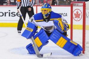 Jake Allen, St. Louis Blues goalie