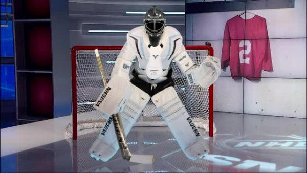 Sportsnet model of a perfectly streamlined goalie