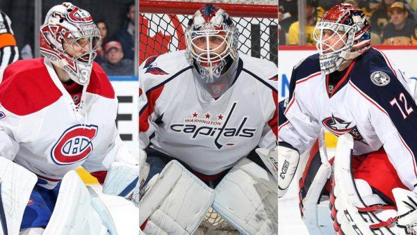 Carey Price, Braden Holtby, Sergei Bobrovsky