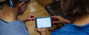 NHL players already use tablets for concussion baseline testing during the regular season